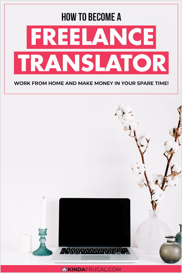 If you speak more than one language, becoming a freelance translator might be the perfect side hustle or new career for you. Learn how to get started and check out the list of 46 websites with freelance translator jobs available. #freelance #sidehustle #workfromhome