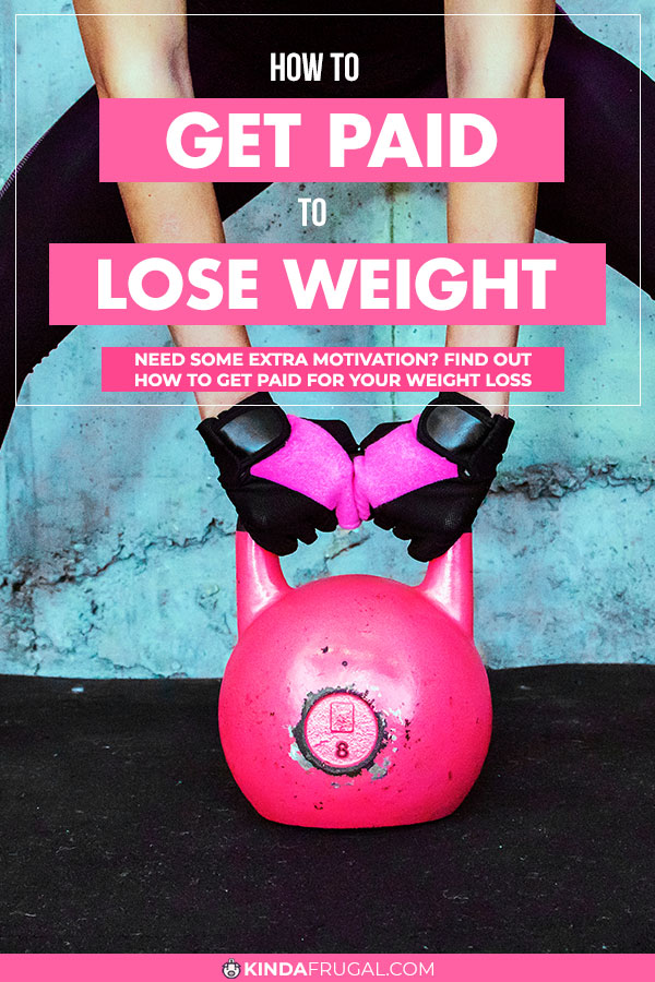 Learn how to get paid to lose weight and make money losing weight