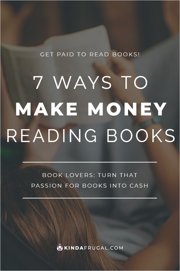 If you love to read like I do, why not turn that passion into some extra money? Learn how you can get paid to read books.