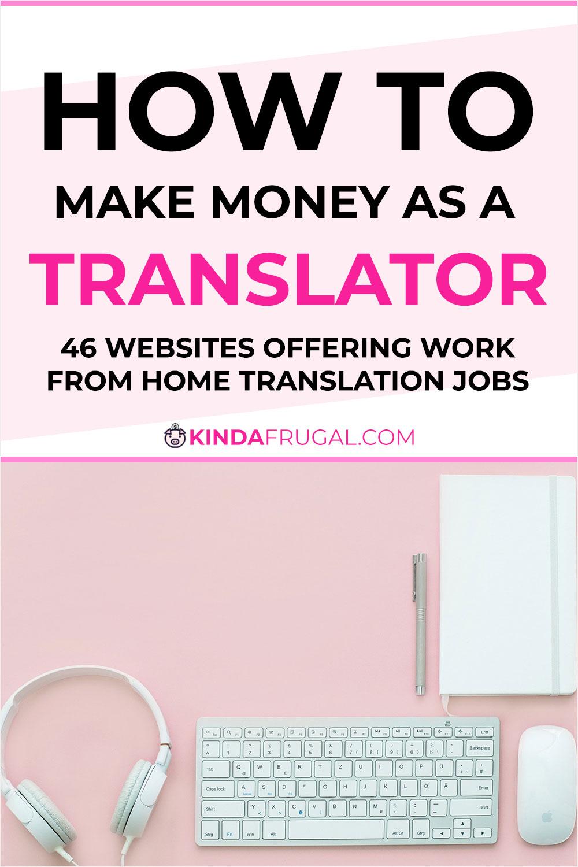 How to Make Money as a Translator