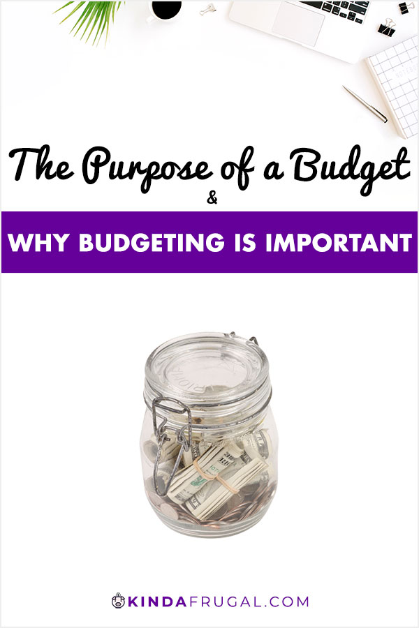What is the purpose of a budget and why is budgeting important?