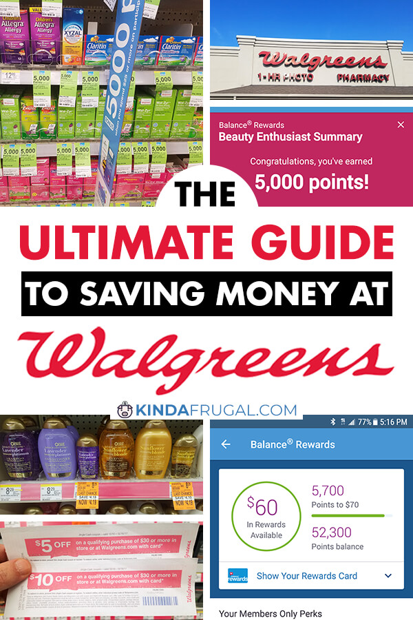 Savvy shoppers can get some great deals at Walgreens. There's probably one near you so why not learn the best ways to save money at Walgreens?